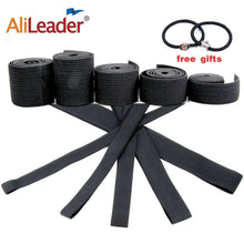 Load image into Gallery viewer, Alileader Cheap Elastic Band For Wigs Accessories High Quality Wig Making Materials Wig Caps For Making Closure wig Black Color