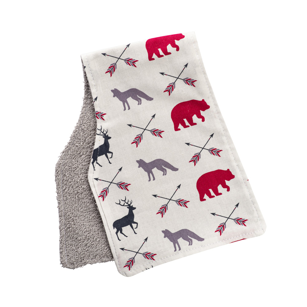 Arrow Animals Burp Cloths
