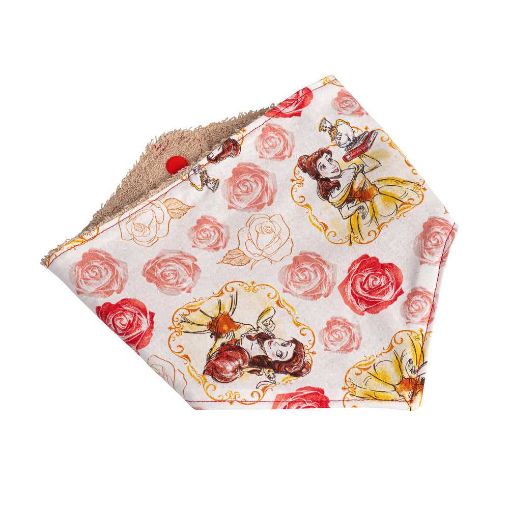 Beauty & the Beast Bandana Bibs