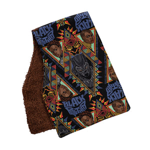 Black Panther Burp Cloths