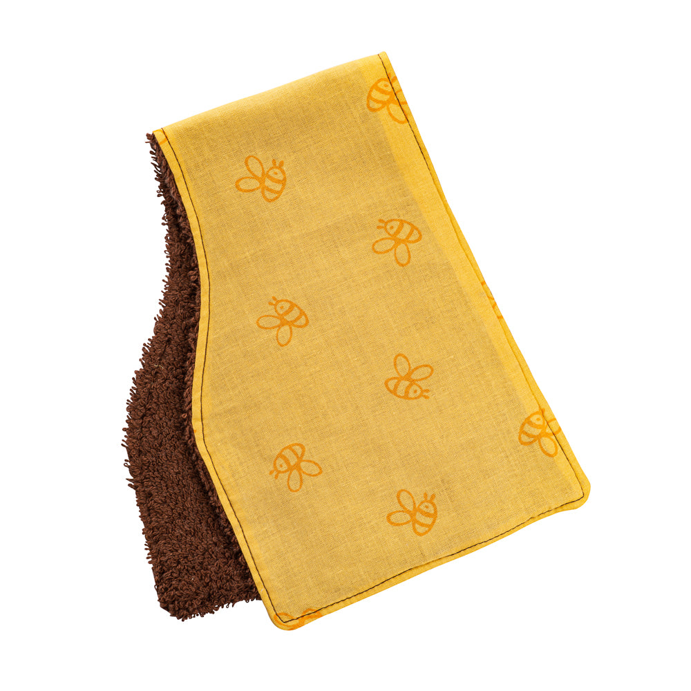 Bumble Bee Burp Cloths