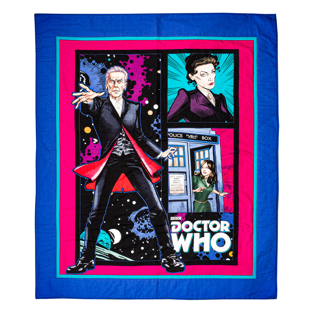 Doctor Who Blanket Play Mat