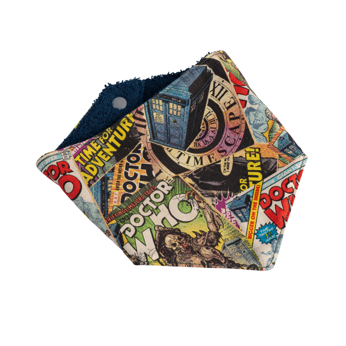 Doctor Who Bandana Bibs