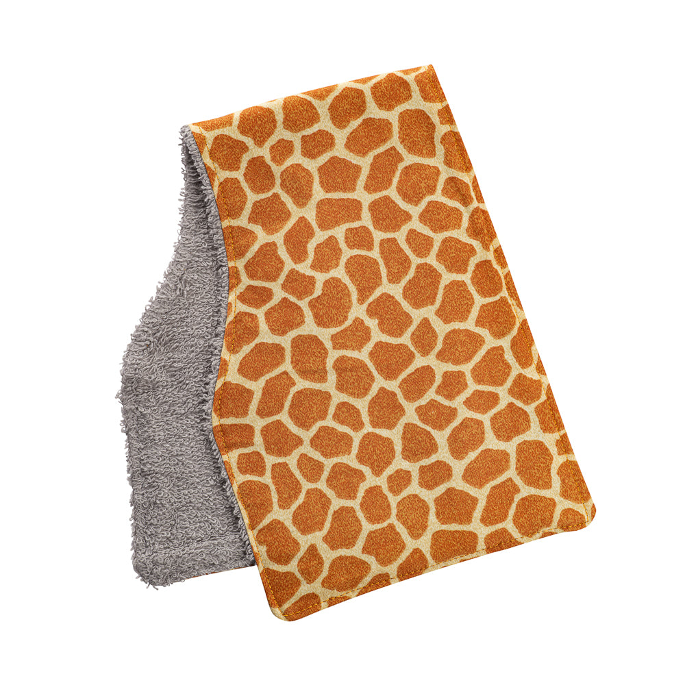 Giraffe Burp Cloths