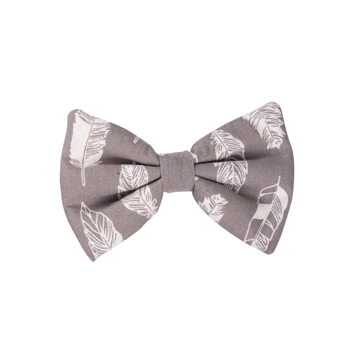Grey Feathers Bows