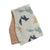 Grey & Tan Fox Burp Cloths