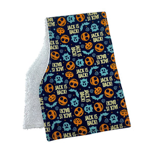Nightmare Before Christmas Burp Cloths