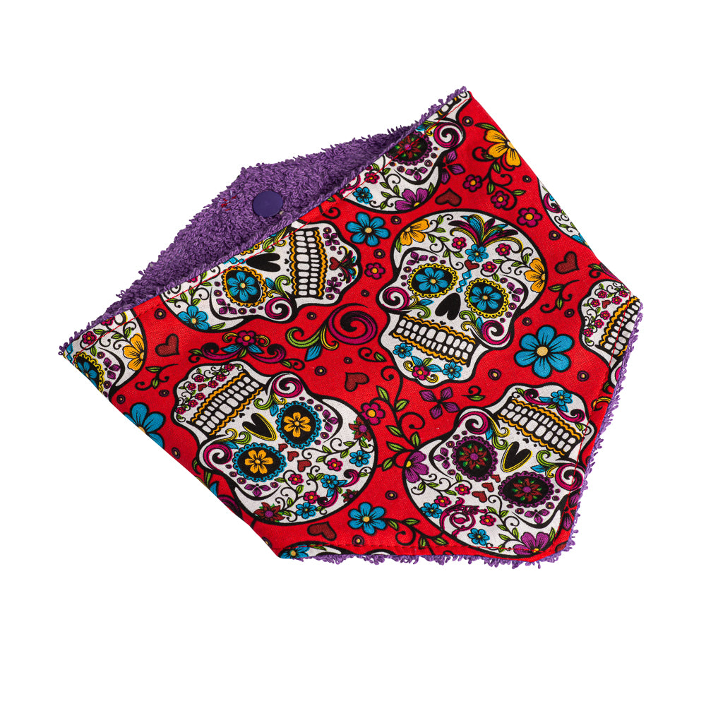 Sugar Skulls Party Bandana Bibs