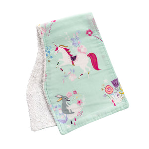 Unicorn Burp Cloths