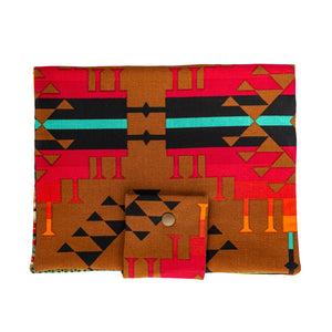Native Mexican Diaper Clutch