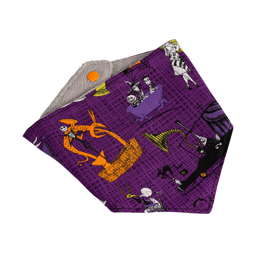 Nightmare Before Christmas Bandana Bibs