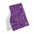 Purple Floral Burp Cloths