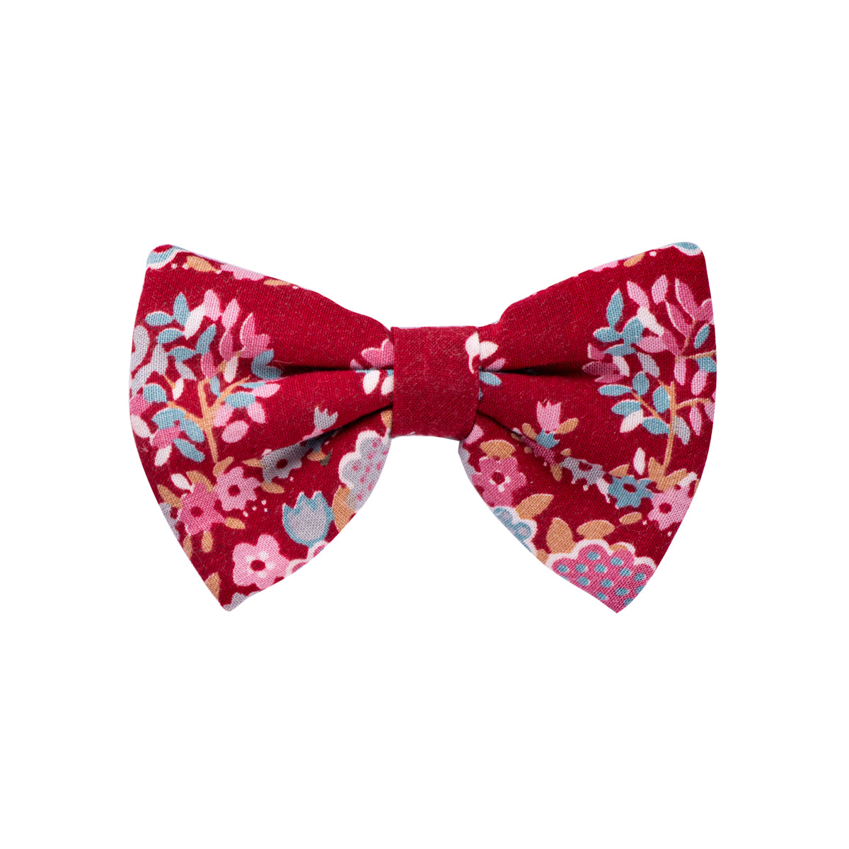 Red Floral Bows