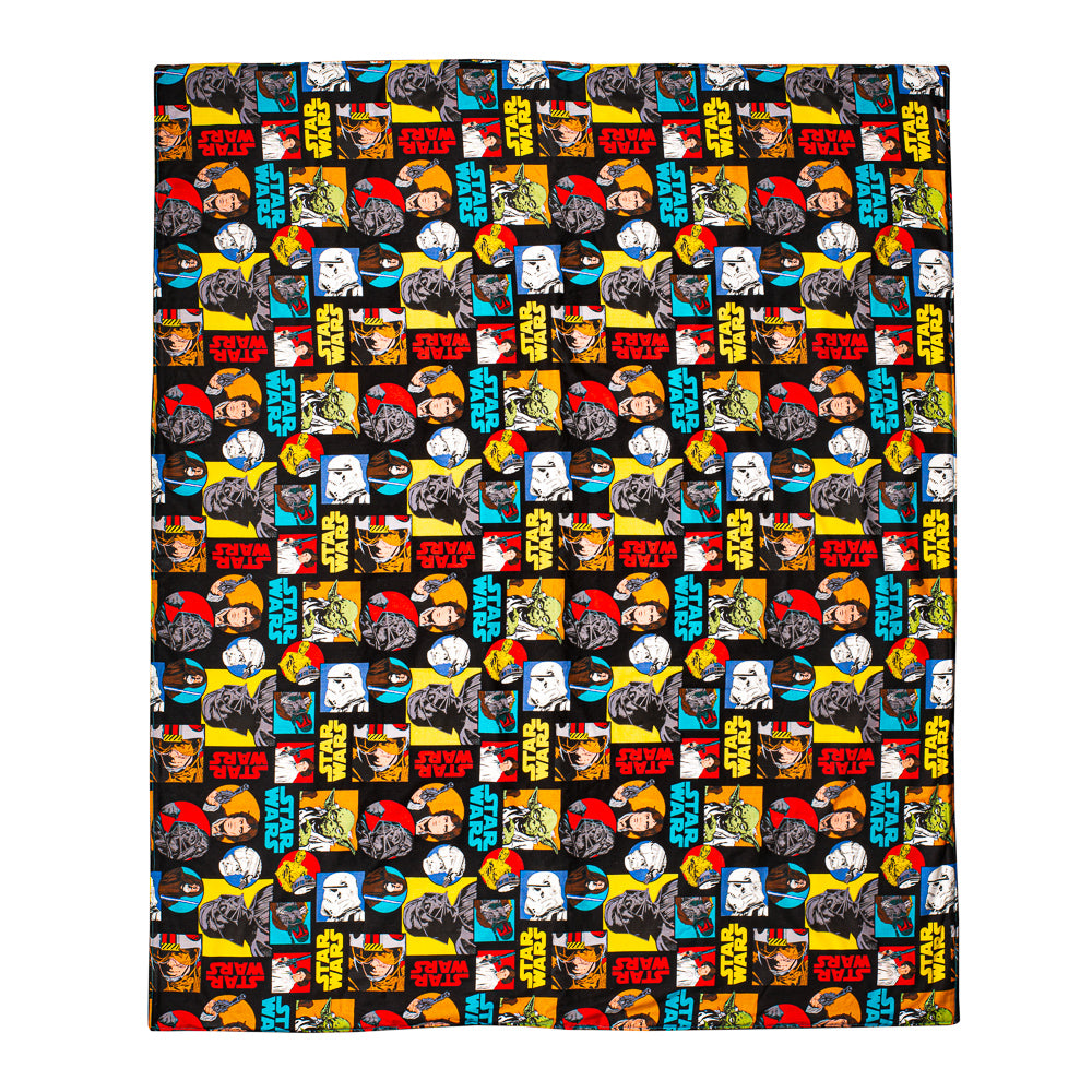 Star Wars Yellow Blanket Play Mat