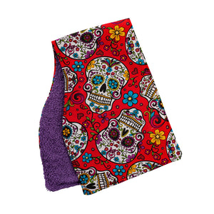 Sugar Skulls Burp Cloths