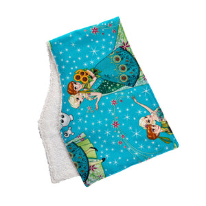 Frozen Burp Cloths