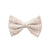 Tan Splatter Bows
