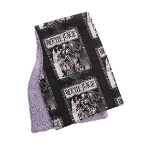 Beetlejuice Burp Cloths