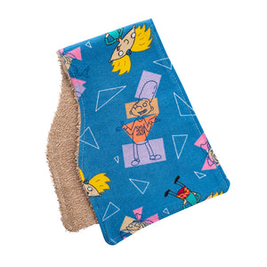 Hey Arnold Burp Cloths
