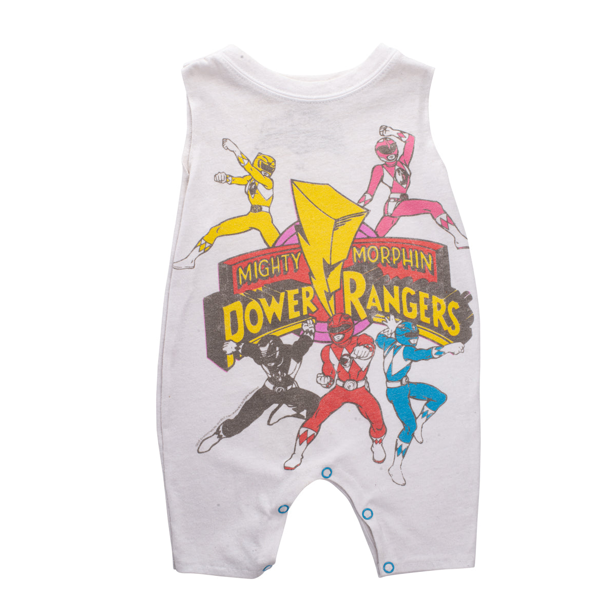 The Mighty Morphin Power Rangers T-Shirt Onesie