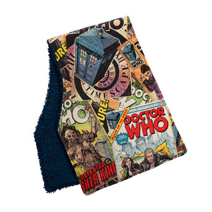 Doctor Who Burp Cloths