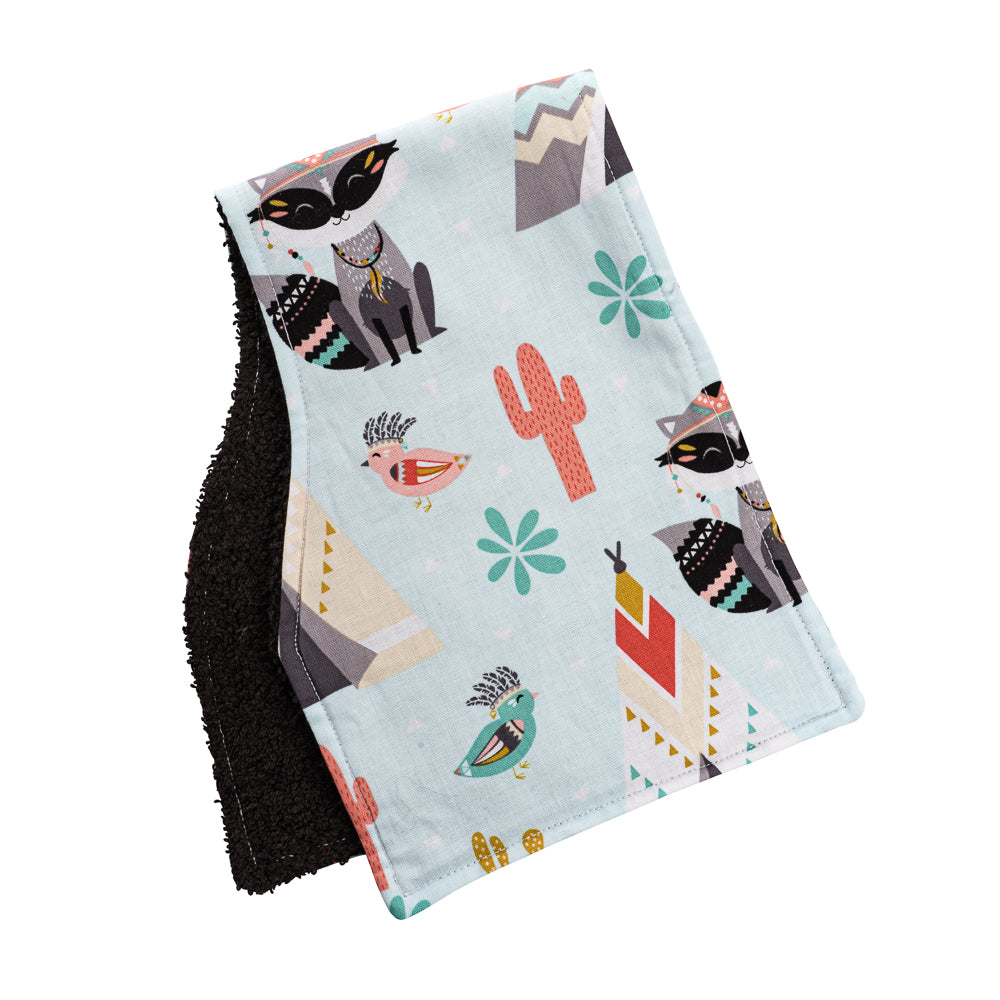 Woodland Warrior Burp Cloths