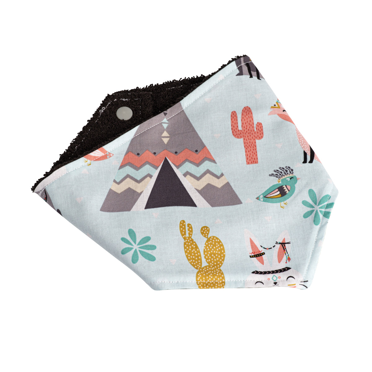 Woodland Warrior Bandana Bibs