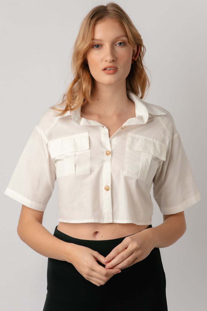 Birgetta Crop Shirt