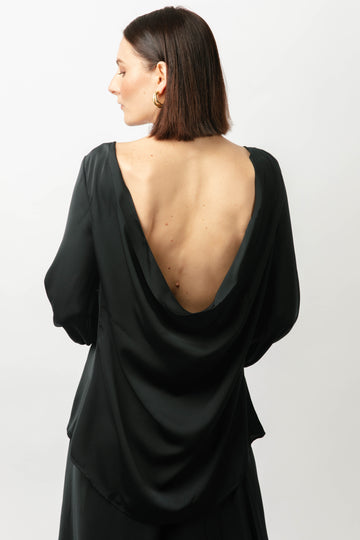 Madina Backless Top