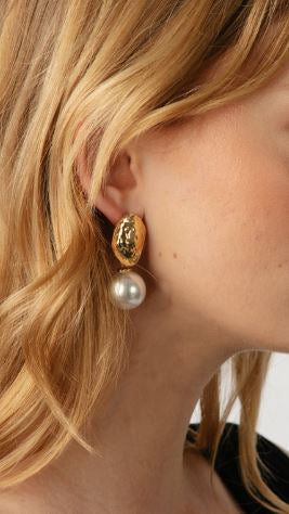 Vivienne Pearl Drop Earrings