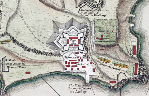 Fort Ticonderoga Map