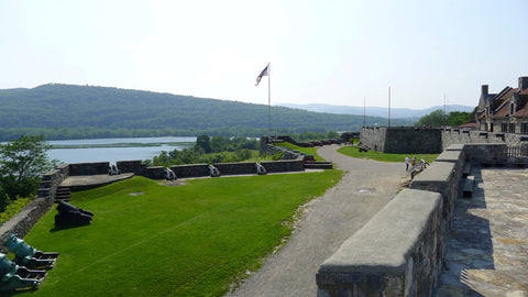 Fort Ticonderoga, overlooking Lake Champlain (2015)