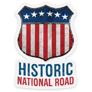Historic National Road Sticker