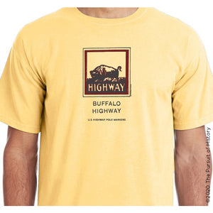 """America's Highway Pole Markers Series: Buffalo Highway"" Shirt"