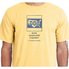 "Load image into Gallery viewer, ""America's Highway Pole Markers Series: Dixie Overland Highway"" Shirt"