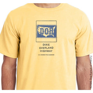 """America's Highway Pole Markers Series: Dixie Overland Highway"" Shirt"