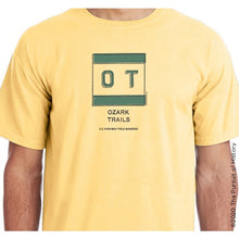 "Load image into Gallery viewer, ""America's Highway Pole Markers Series: Ozark Trails"" Shirt"
