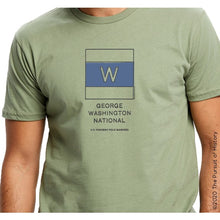 "Load image into Gallery viewer, ""America's Highway Pole Markers Series: George Washington National Highway"" Shirt"