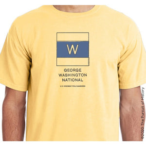"""America's Highway Pole Markers Series: George Washington National Highway"" Shirt"