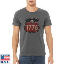 "Load image into Gallery viewer, ""Route 1776"" T-shirt"