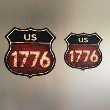 "Load image into Gallery viewer, ""Route 1776"" Magnet"