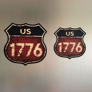 """Route 1776"" Magnet"
