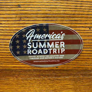 "America's Summer Roadtrip Sticker (5""x3"")"