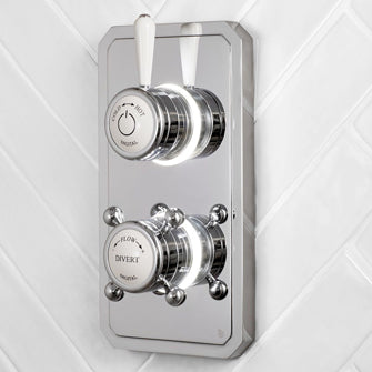 Two Outlet Shower Valves