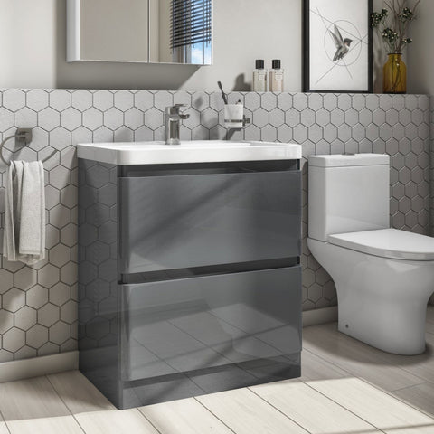 Shop Floor-standing Vanity units with basin online at best quality bathrooms