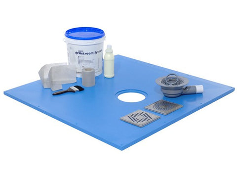 Maxxus wetroom shower tray kit online