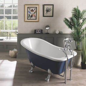 Bc Designs Freestanding Fordham Bath With Feet Set
