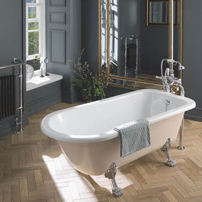 Bc Designs Freestandin Mistley Bath With Feet Set 1700Mm X 750Mm