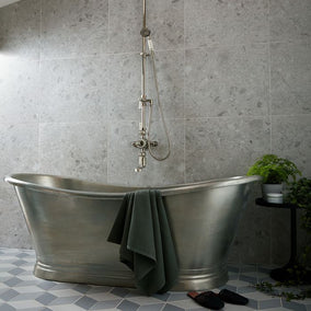 Bc Design Freestanding Tin Boat Bath