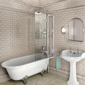 Burlington Rectangular Bath Screen with Access Panel